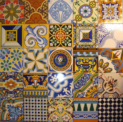 Azulejos art sticos bond a socarrats azulejos artesanos restauraci n azulejos antiguos - Alicatar encima de azulejos ...